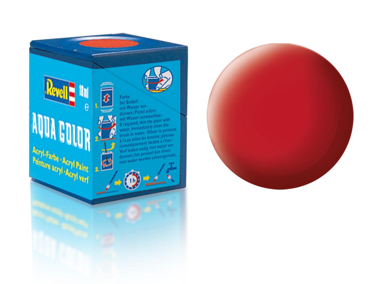 Farba Revell akrylová - 36: matná karmínová (carmine red matt)