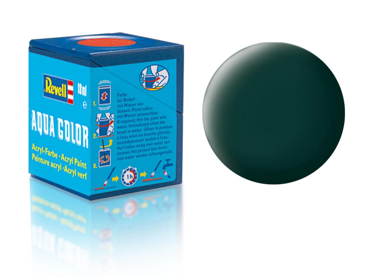 Farba Revell akrylová - 40: matná čierno zelená (black-green matt)