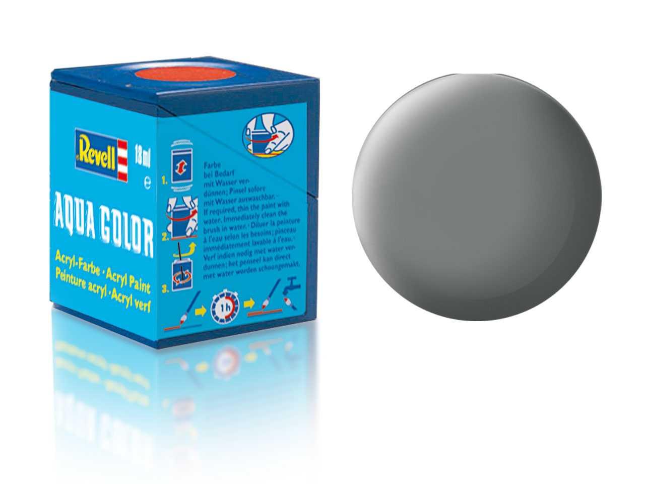 Farba Revell akrylová - 47: matná myšia šedá (mouse grey matt)