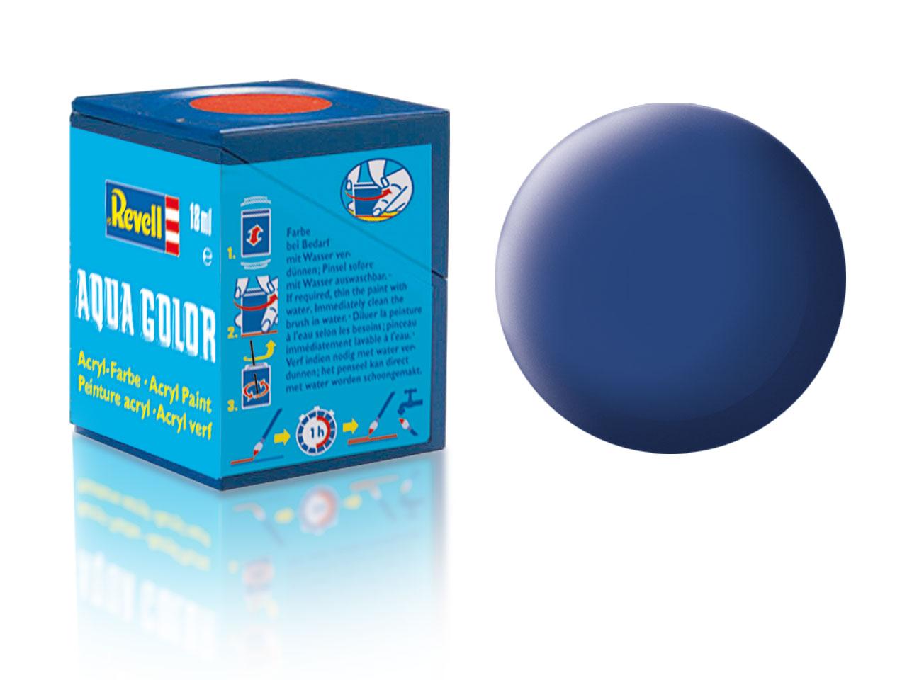Farba Revell akrylová - 56: matná modrá (blue matt)