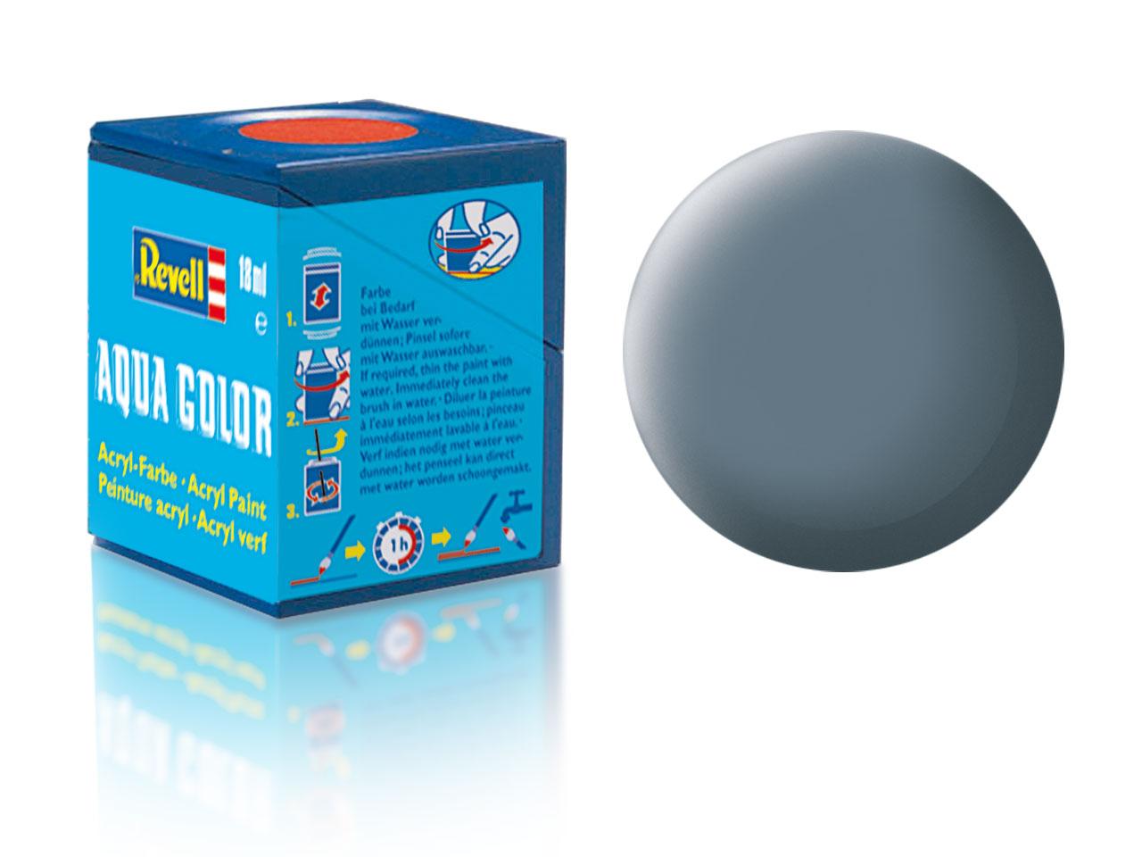 Farba Revell akrylová - 79: matná šedavo modrá (greyish blue matt)