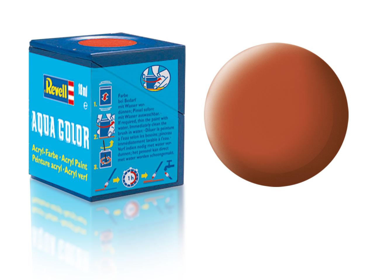 Farba Revell akrylová - 85: matná hnedá (brown matt)