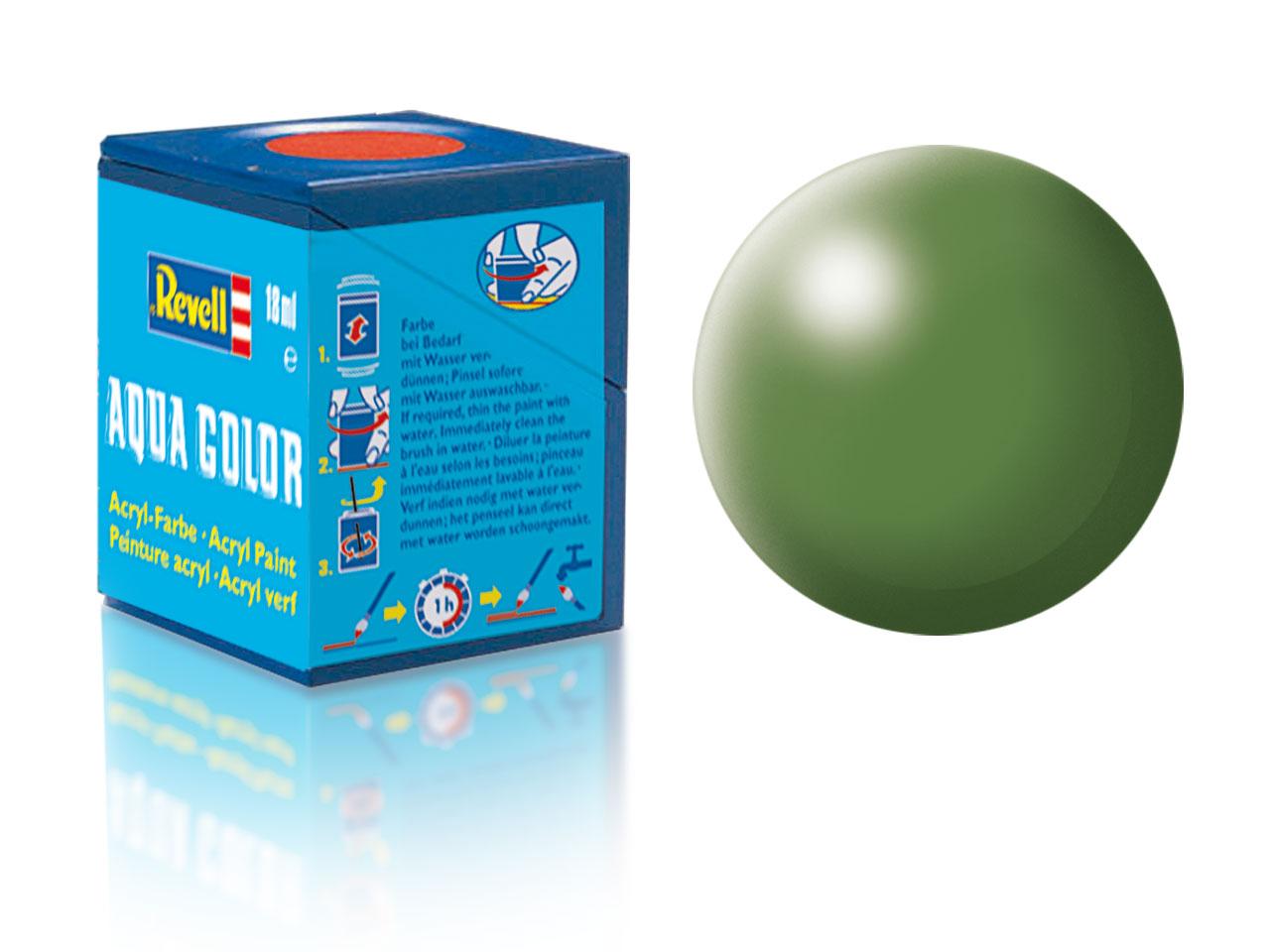 Farba Revell akrylová - 360: hodvábne matná zelená (green silk)