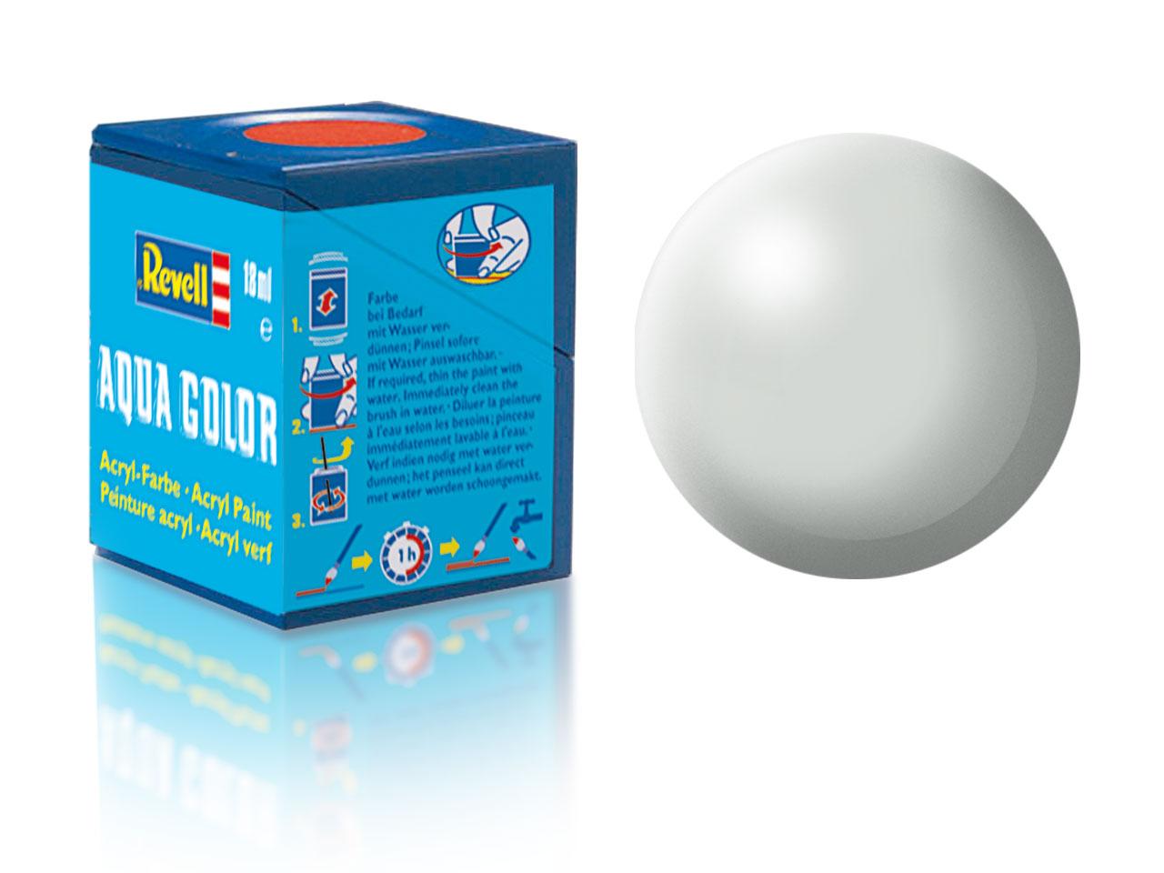 Farba Revell akrylová - 371: hodvábne matná svetlo šedá (light grey silk)