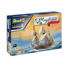 Gift-Set loď 05684 - Mayflower 400th Anniversary (1:83)