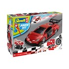 Junior Kit auto 00835 - Pull Back Racing Car (červené) (1:20)