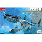 Model Kit letadlo 12282 - P-38 COMBINATION VERSION (1:48)