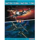 Model Kit letadlo 5121 - He219A-0 UHU / He219A-7 OWL (2 in 1) (1:72)
