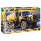 Model Kit military 3654 - RUSSIAN ARMY TRUCK URAL4320 (1:35)