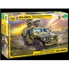 Model Kit military 3682 - GAZ with AT missile system