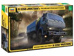 Model Kit military 3697 - Russian three axle truck K-5350