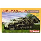 Model Kit military 7306 - Sd.Kfz.251 Ausf.C mit Wurfrahmen 40 (1:72)