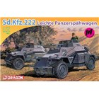 Model Kit military 7393 - Sd.Kfz.222 LEICHTE PANZERSPÄHWAGEN (1:72)