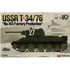 Model Kit tank 13505 - USSR T-34/76