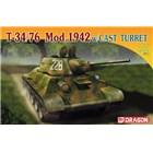 Model Kit tank 7224 - T-34/76 Mod.1942 w/CAST TURRET (1:72)