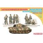 Model Kit tank 7400 - 3rd Fallschirmjäger Division + Kingtiger Henschel Turret (1:72)