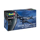 Plastic ModelKit letadlo 03854 - Beaufighter IF Nightfighter (1:48)